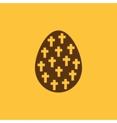 The Easter icon Easter egg symbol UI Web Logo vector image
