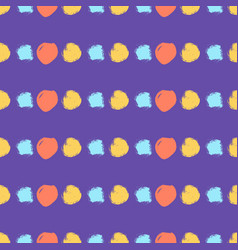 Seamless colorful pattern with circles vector