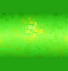 Green yellow brown shades glowing various tiles vector