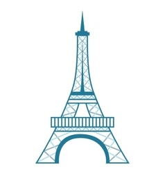 Tower eiffel isolated icon design vector