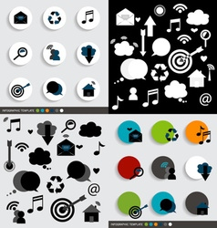 Application icons design vector