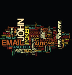 Auto responders the marketers magic trick text vector