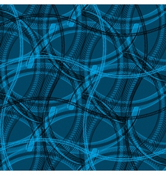 blue net vector image vector image