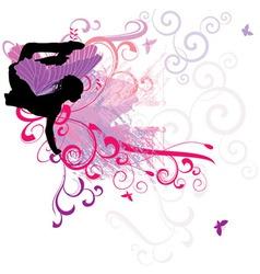 fairy flourishes vector image