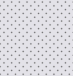 Seamless geometric modern pattern of stars vector image