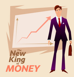 business man 1 vector image