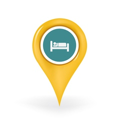Accommodation location vector