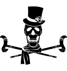 Skull dandy vector