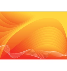 background with waves vector image vector image