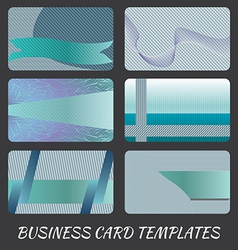 business-card-templates-1 vector image vector image
