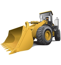large loader vector image