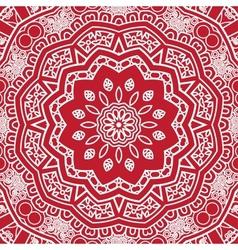 round decorative design element vector image vector image