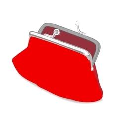 Beautiful purse vector