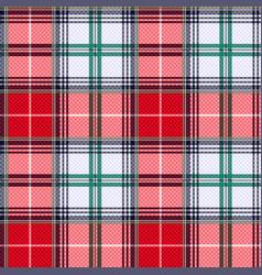 tartan seamless texture in various hues vector image