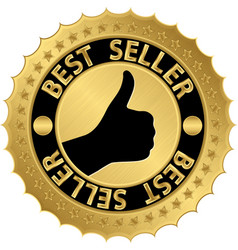 Best seller golden label vector
