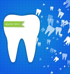 Healthy teeth design vector