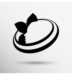 Beauty icon skin care health design spa vector