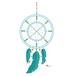 Dreamcatcher tattoo vector