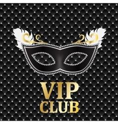 Elegant dark vip card vector