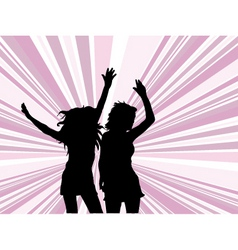 lets dance vector image vector image