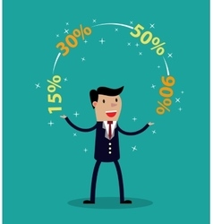 Promotions discounts sale vector image