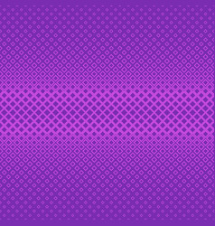 Purple symmetrical geometric halftone square vector