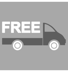 Free delivery icon vector