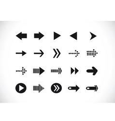 Arrow icons for web vector