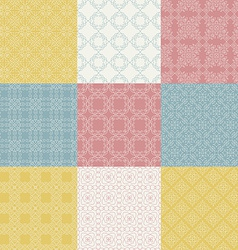 Graphical Pattern Collection vector image vector image