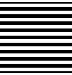 Striped seamless pattern black white thin vector