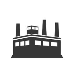 Building plant icon industry design vector