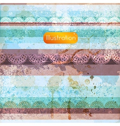 Abstract grunge striped background vector