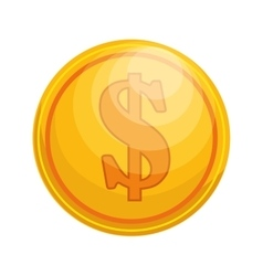 Coin icon currency save money icon vector