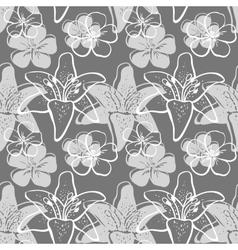 FlowersBackground5 vector image vector image