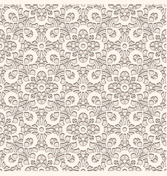 old lace texture seamless pattern vector image vector image