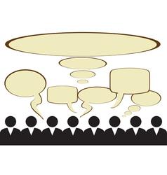 Public opinion vector
