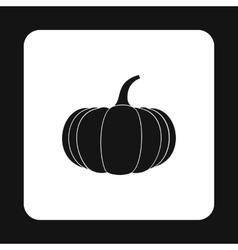 Pumpkin icon simple style vector image vector image