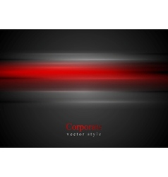 Shiny red stripes background vector