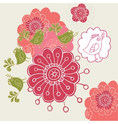 Flower design4 vector