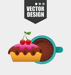bakery icon design vector image
