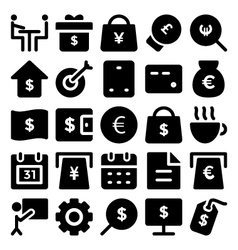 Business icons 9 vector