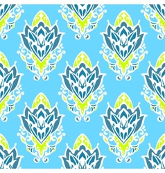 Damask floral seamless pattern vector