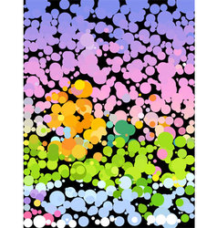 Dot of color for abstract background vector image vector image