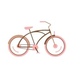 Girl bike vector