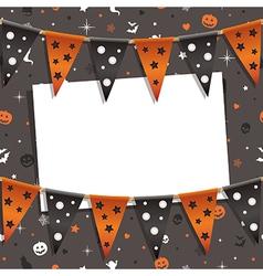 Halloween decoration vector
