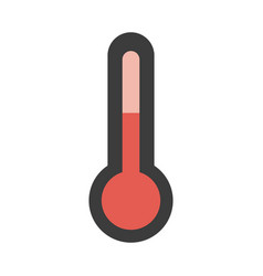 thermometer temperature icon image vector image vector image