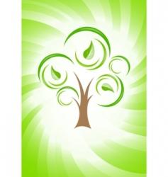 Vector green concept vector