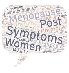 Hormone therapy reduced physical post menopausal vector