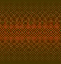 Abstract geometrical halftone square pattern vector