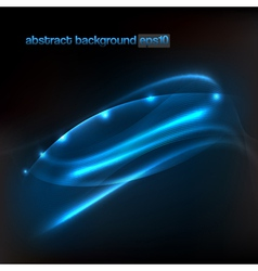 background with abstract flowing lines vector image